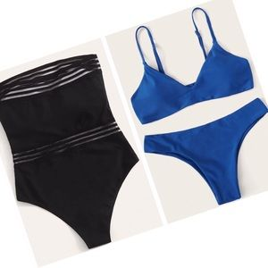 BRAND NEW TWO 2 Bathing Suits
